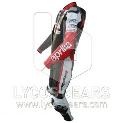 Aprilia One Piece Motorbike Racing Leather Suit
