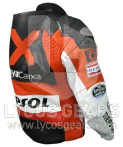 CX Repsol Motorbike Racing Leather Jacket