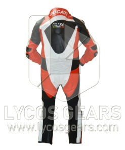 Ducati Motorbike Racing Leather Suit