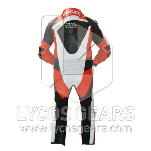Ducati Motorbike Racing Leather Suit