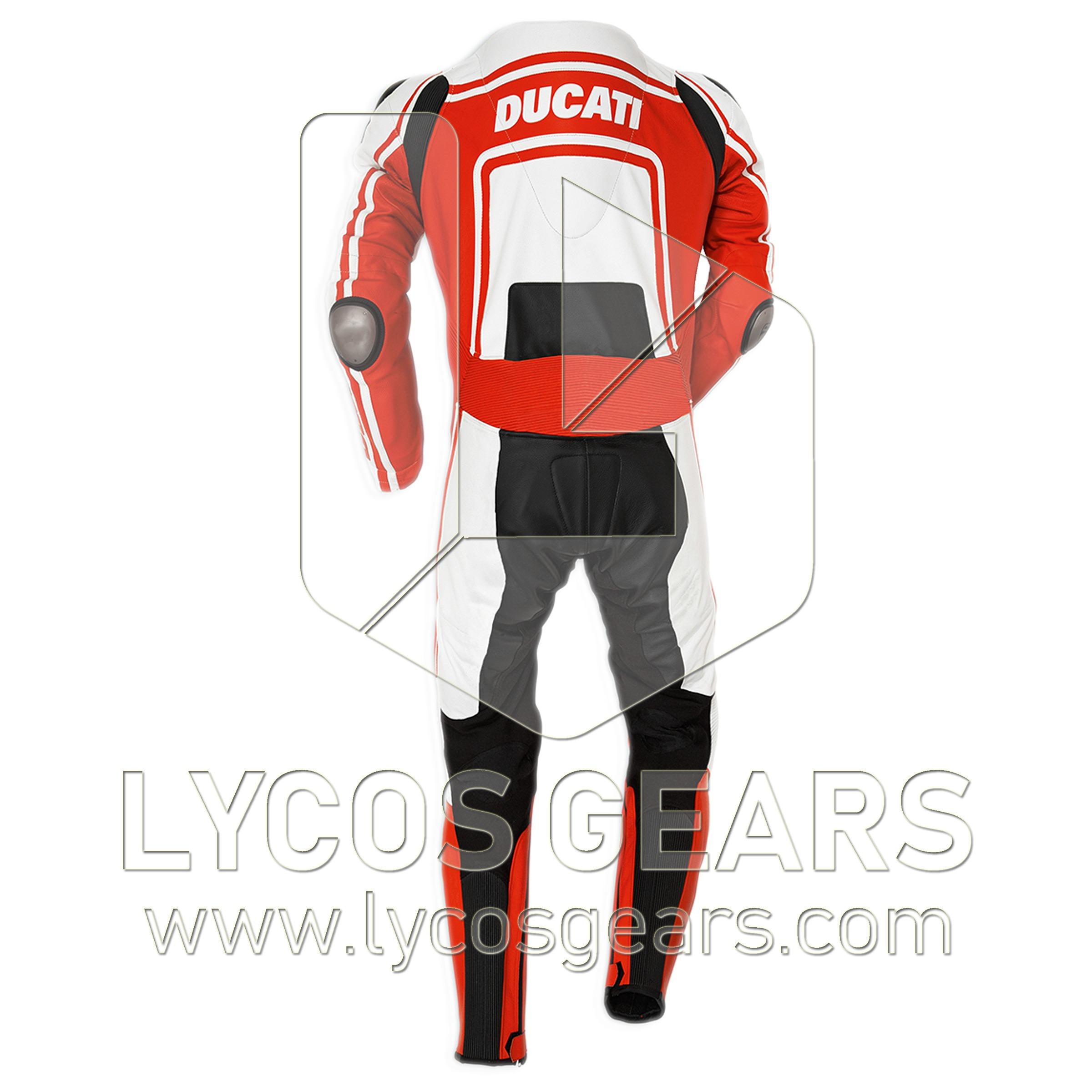 Ducati Motorbike Racing One Piece Leather Suit