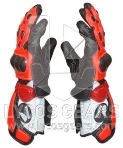 Honda Repsol Motorbike Racing Leather Gloves 2016