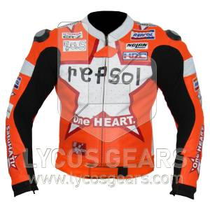 Honda Repsol One Heart Motorcycle Jacket