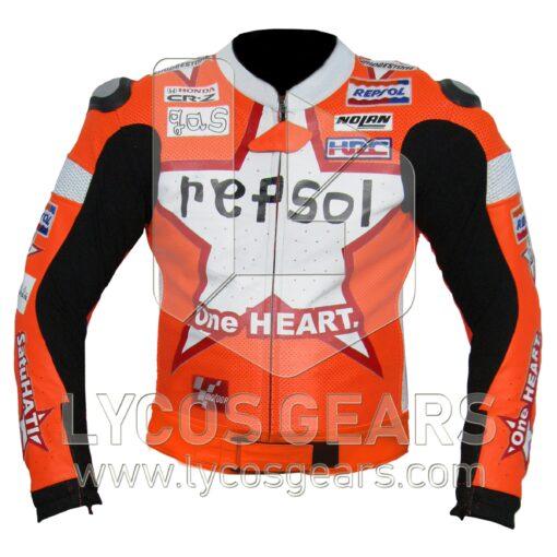 Honda Repsol One Heart Motorcycle Jacket