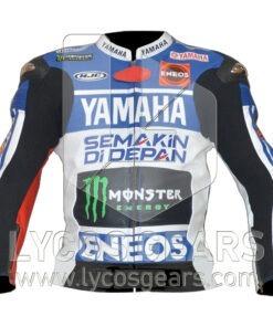 Jorge Lorenzo Motorcycle Jacket
