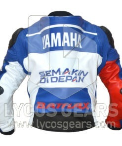 Jorge Lorenzo Motorbike Racing Leather Jacket