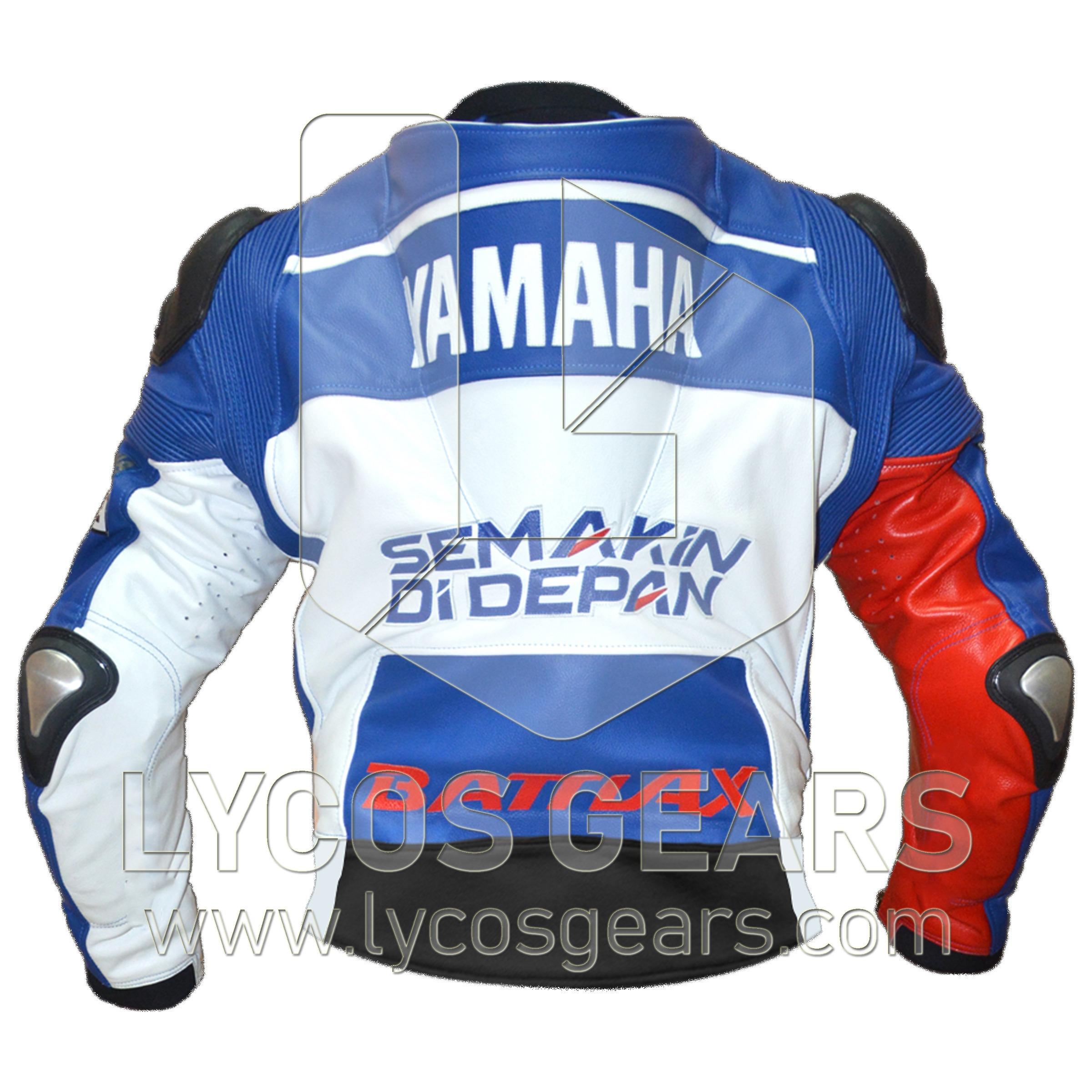 Jorge Lorenzo Motorbike Racing Leather Jacket