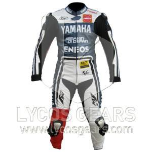 Jorge Lorenzo Yamaha Motorcycle Suit