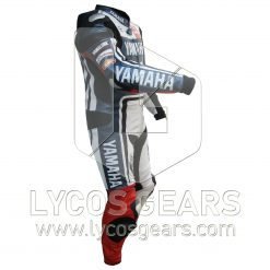 Jorge Lorenzo Yamaha Motorbike Racing Leather Suit