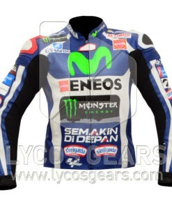 jorge lorenzo movistar 2016 motorcycle jacket
