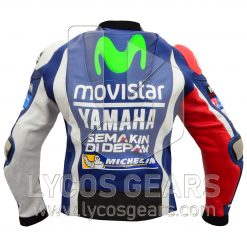 Jorge Lorenzo Yamaha Movistar MotoGp 2016 Motorcycle Racing Jacket Suit motorbike leather jacket motorbike leathers motorbike leather jackets motorbike suits motorbike leather suits motorbike shop motorbike jacket black motorbike jacket motorbike suit moto