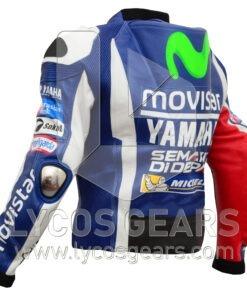 Jorge Lorenzo Yamaha Movistar MotoGp 2016 Motorcycle Racing Jacket Suit