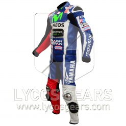 Jorge Lorenzo Yamaha Movistar MotoGp2016 Motorcycle Racing Leather Suit