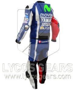 Jorge Lorenzo Yamaha Movistar MotoGp2016 Motorcycle Racing Leather Suit