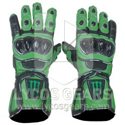 Kawasaki Monster Energy Motorcycle Gloves