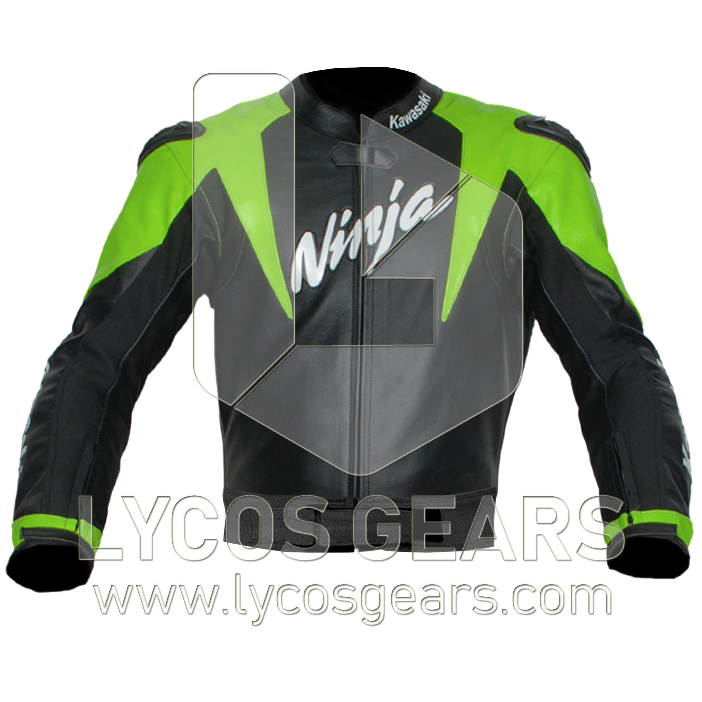 Kawasaki Ninja Motorcycle Jacket Lycos Gears