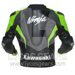 Kawasaki Ninja Motorbike Racing Leather Jacket