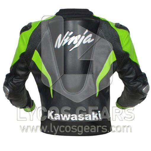 Kawasaki Ninja Motorbike Racing Leather Jacket