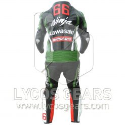 Kawasaki Ninja One Piece Motorbike Racing Leather Suit