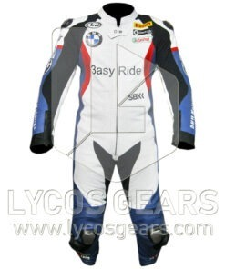 Leon Haslam BMW Motorcycle Suit
