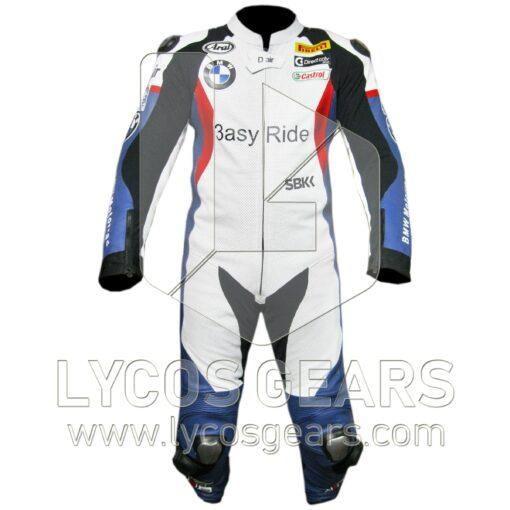 Leon Haslam BMW Motorcycle Suit