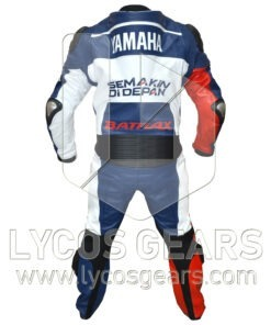 Lorenzo Yamaha MG2013 Motorbike Racing Leather Suit