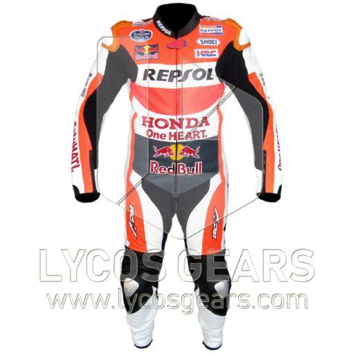 Marc Marquez Honda Repsol MotoGP 2015 Motorcycle Suit