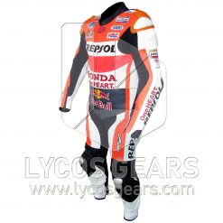 Marc Marquez Honda Repsol MotoGP 2015 Motorbike Racing Leather Suit