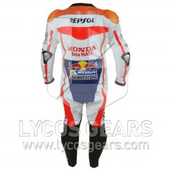 Marc Marquez Honda Repsol Motorbike Racing Leather Suit 2016