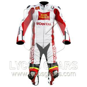 Marco Simoncelli Motorcycle Suit
