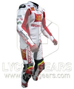 Marco Simoncelli Motorbike Racing Leather Suit