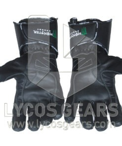 Monster Motorbike Racing Leather Gloves