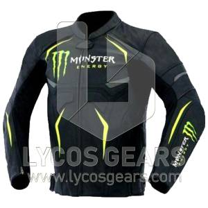 Monster Energy Motorcycle Leather Jacket