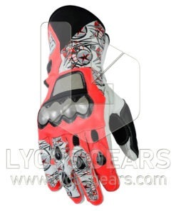 Nicky Hayden Motorcycle Racing Leathers Gloves