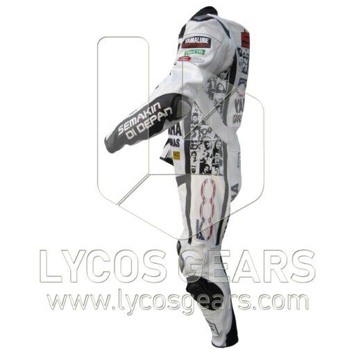 Petronas Yamaha Faces Motorbike Leather Suit