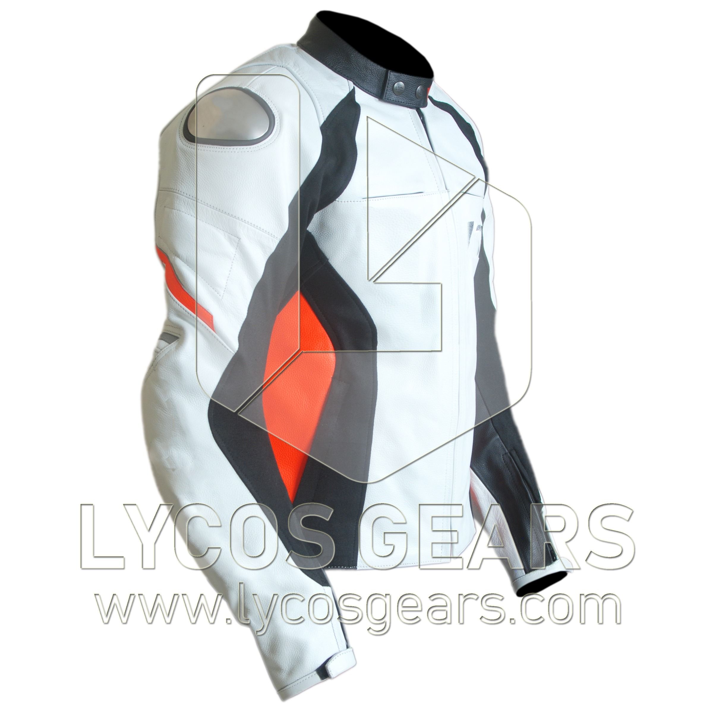 Racing D1 Motorbike Racing Leather Jacket