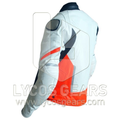 Racing D1 Motorbike Racing Leather Jacket