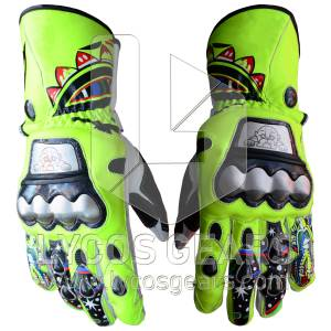 Rossi Motorcycle Gloves 2009