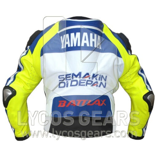 Rossi Motorbike Racing Leather Jacket