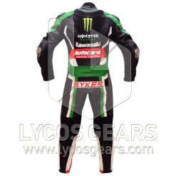 Tom Sykes Kawasaki Ninja One Piece Motorbike Racing Leather Suit