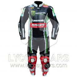 Tom Sykes Kawasaki Ninja Two Piece Motorcycle Suit