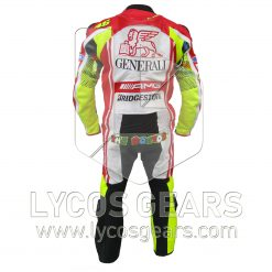 Valentino Rossi Ducati Motorbike Racing Leather Suit