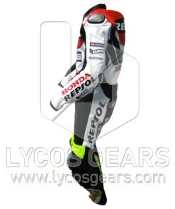 Valentino Rossi Honda Repsol VR46 Racing Leather Suit