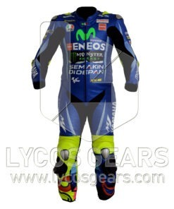 Valentino Rossi Motorbike Leather Suit 2017