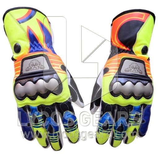 Valentino Rossi Motorcycle Gloves 2015