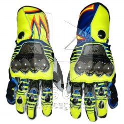 Valentino Rossi Motorcycle Gloves 2016