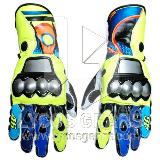 Valentino Rossi Motorcycle Gloves 2017