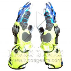 Valentino Rossi Motorbike Racing Leather Gloves 2017