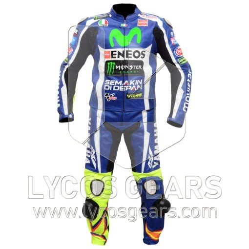 Valentino Rossi VR46 Motorcycle Suit 2016