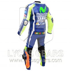 Valentino Rossi VR46 Motorbike Racing Leather Suit 2016